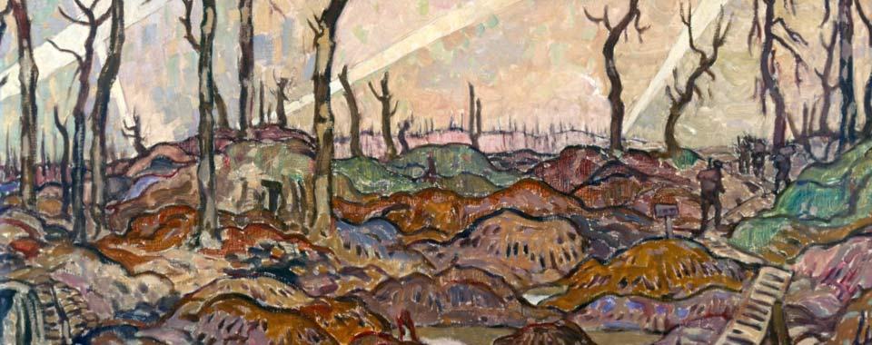 A Copse, Evening, 1918 by A.Y.Jackson