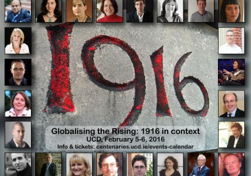 'Globalising the Rising' speakers