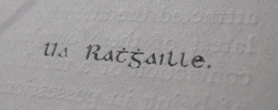 The O'Rahilly's signature