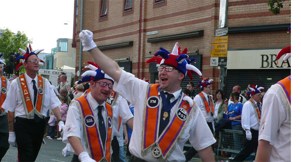 Woo Hoo parade Belfast 12 July
